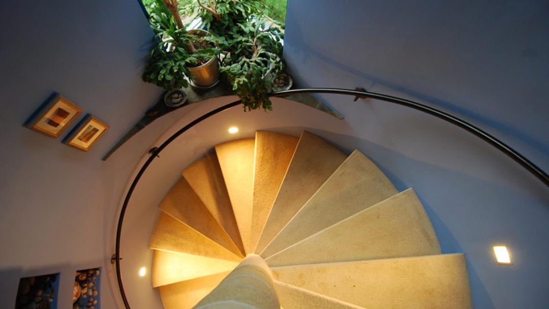 Balmernie main stair