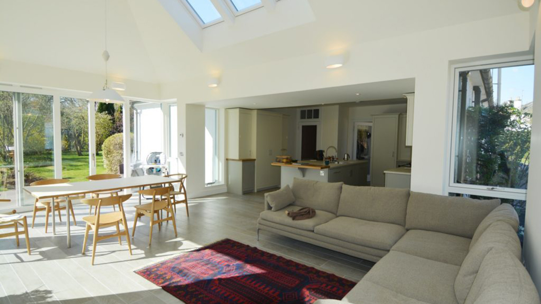 Hepburn Gardens Interior living room with view of kitchen