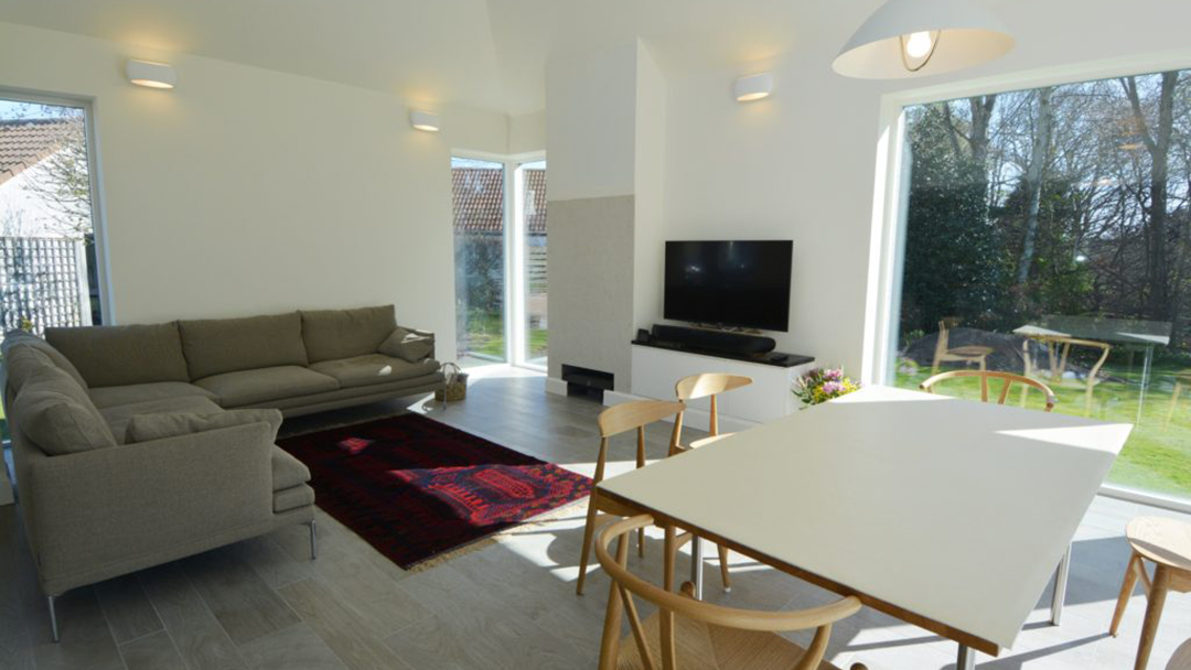 Living Space Extension to House
