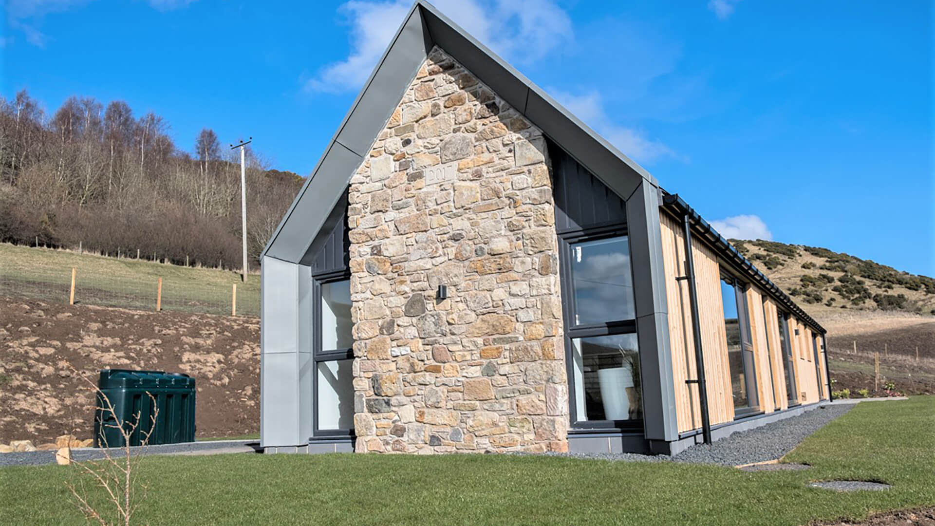rural self build in Fife