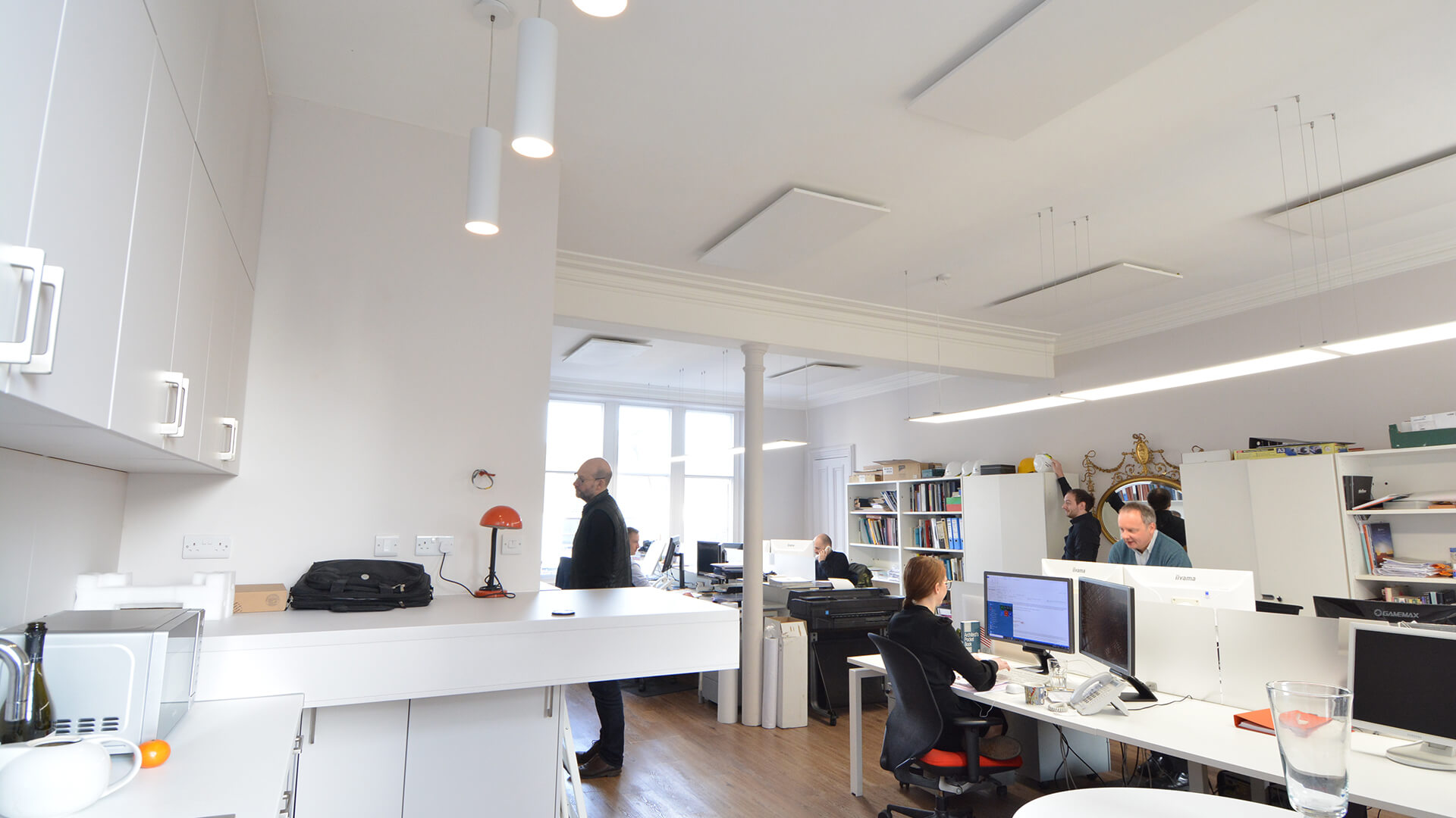 Office space redevelopment