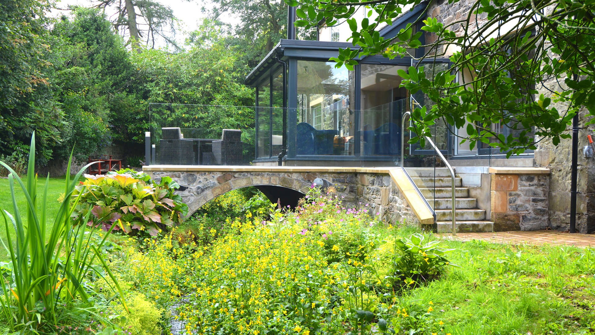 sun room and conservatory