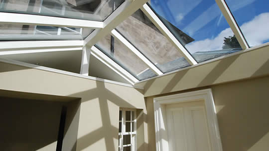 bespoke glass roofing
