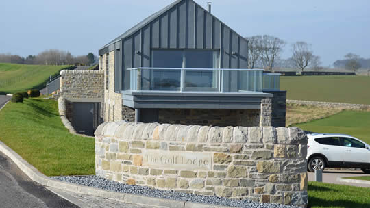 modern self build home in fife