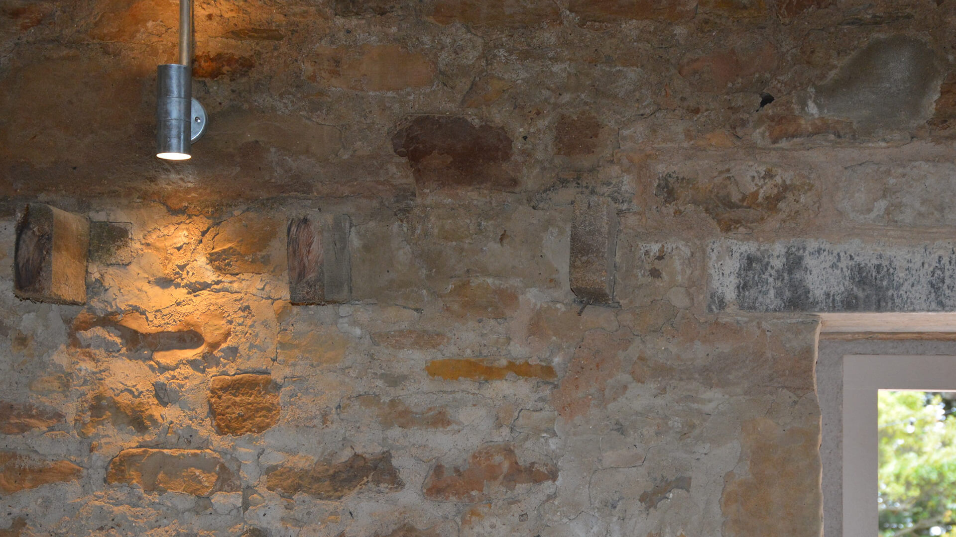 Falside Mill Venue close up of light fixture
