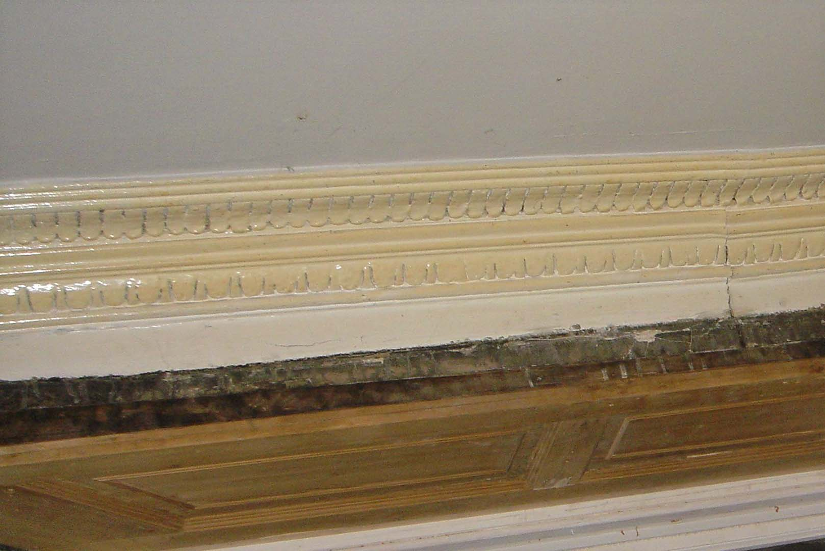Georgian House image of skirting board before restoration