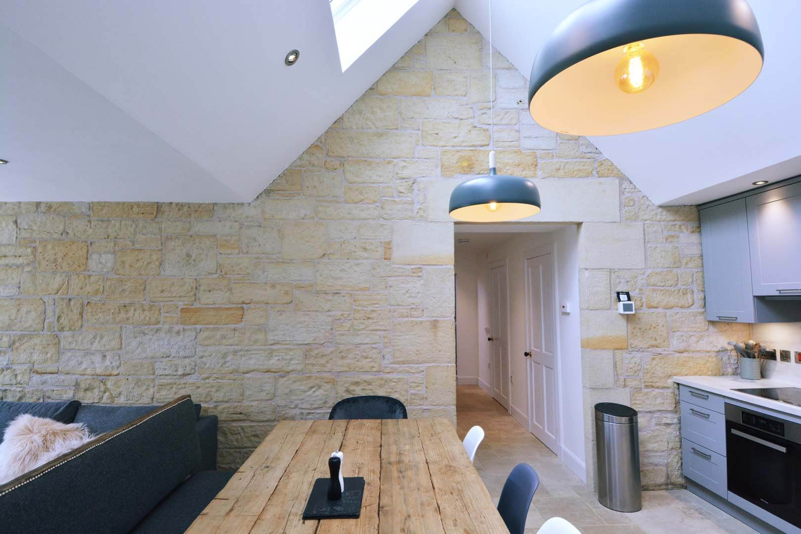 Refurb and Extension Traditional Cottage Dinning Room and Kitchen