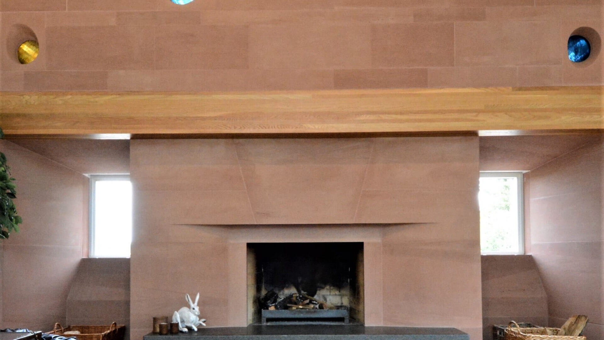 New Country House and Estate fireplace