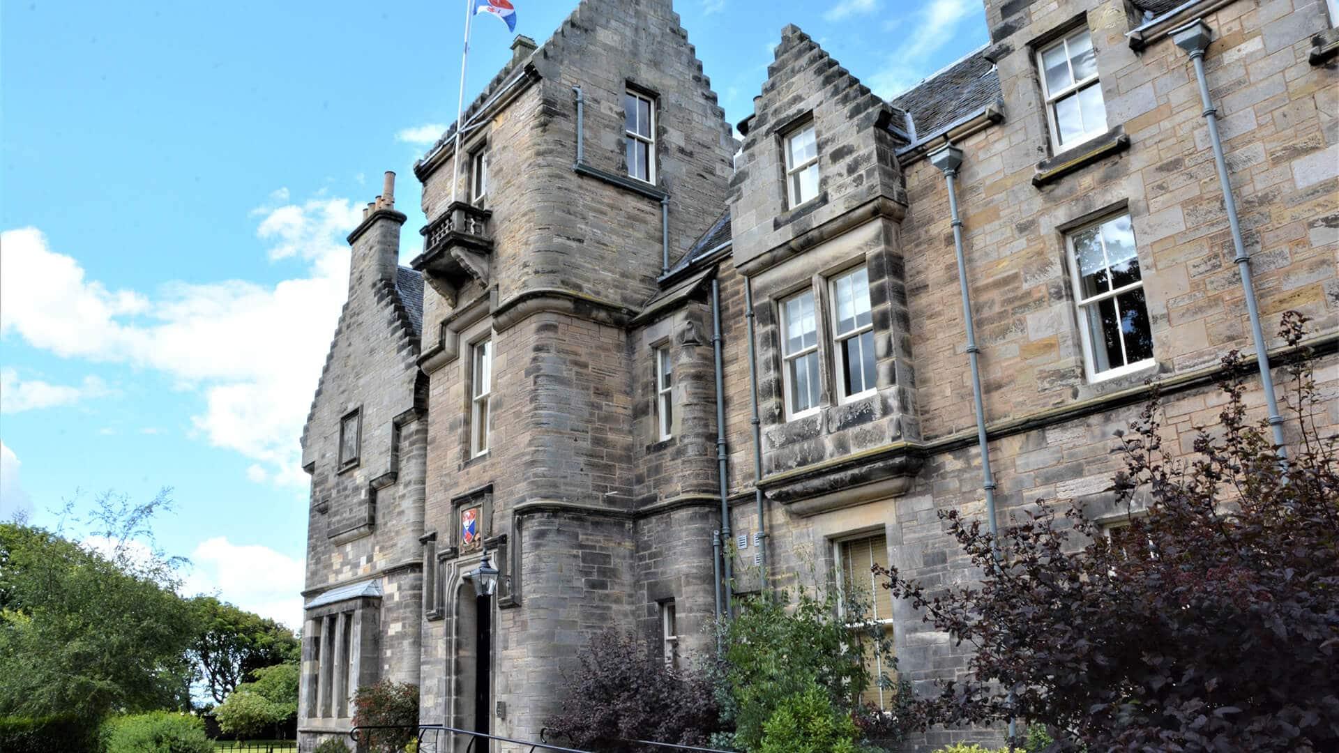 St Andrews University the Scories