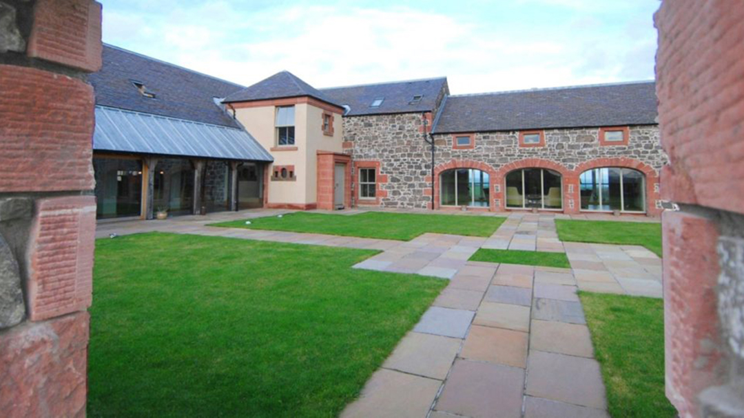 Country House view of internal courtyard
